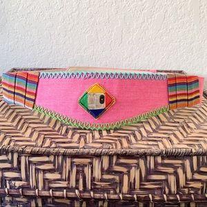 Eclectic Pink Belt